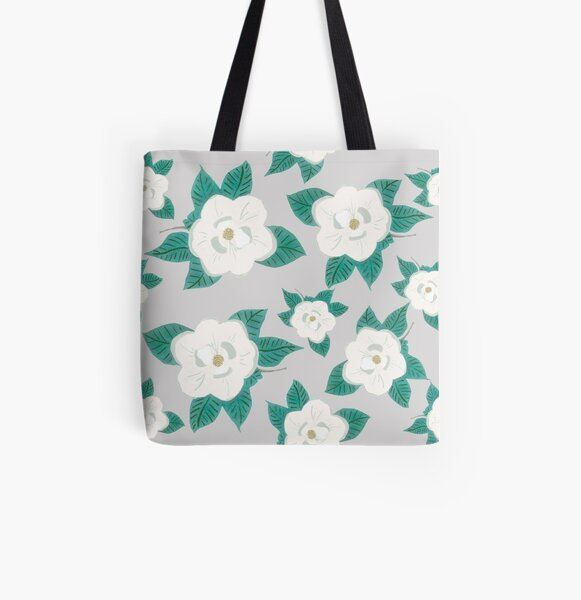 Magnolia Fields  All Over Print Tote Bag