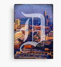 Detroit 1 More Time Canvas Print