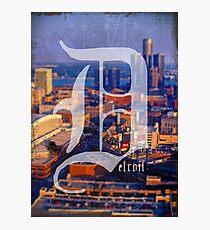 Detroit 1 More Time Photographic Print