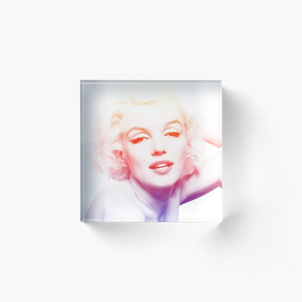 Marilyn Monroe Acrylic Block