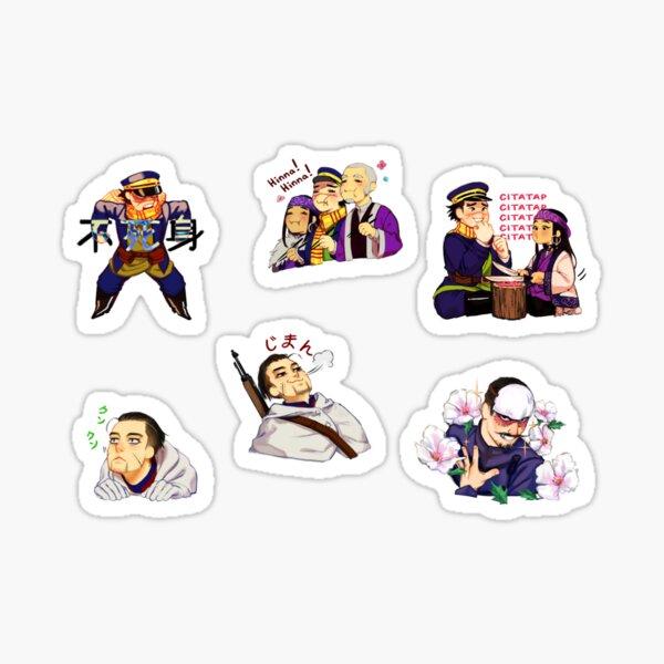 Golden Kamuy Sticker Set Sticker