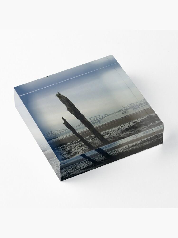 Alternate view of Old Sticks Acrylic Block