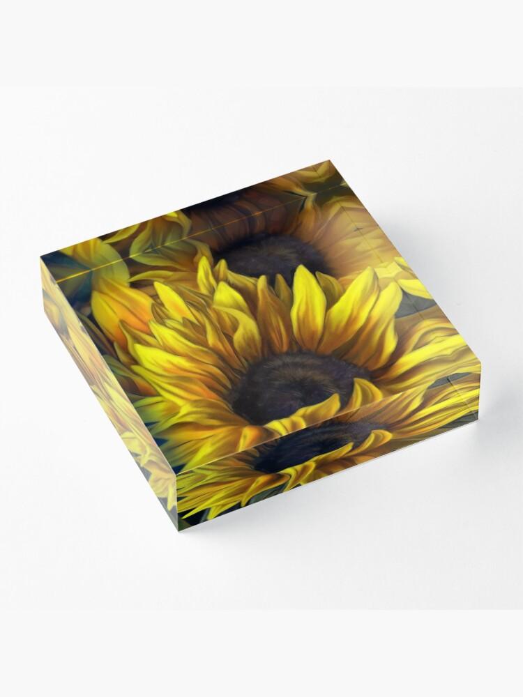 Alternate view of Sunshine Acrylic Block