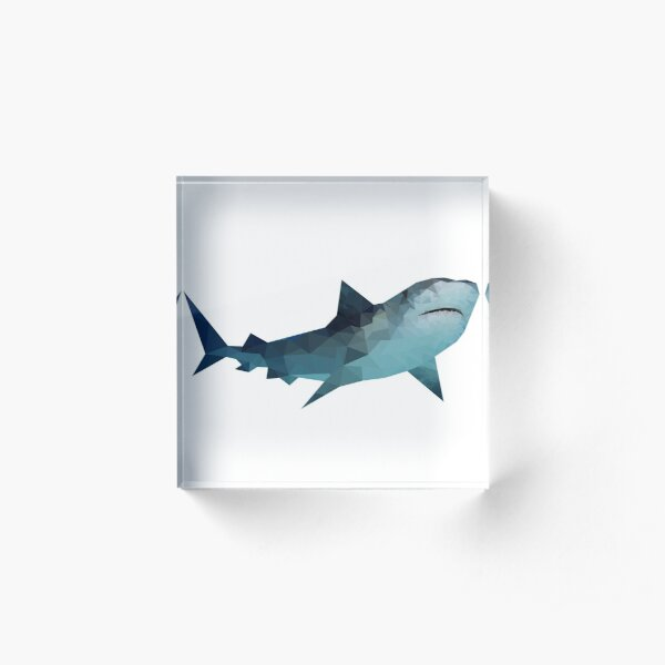 Shark Acrylic Block