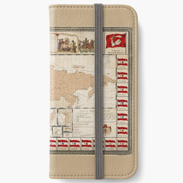 Map and Flag Chart of the Commonwealth iPhone Wallet