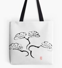 Simple Bonsai Sumi Tote Bag