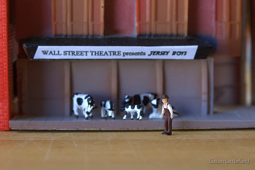 After the play, Stanley Morgan realizes he'll have to sell off some of his under-performing stock by Susan Littlefield