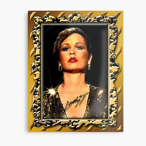 """Teena Marie """"Picturesque"""" D-1a Phone Cases Metal Print"""