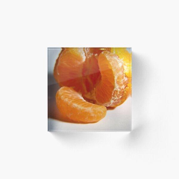 Mandarin take two Acrylic Block