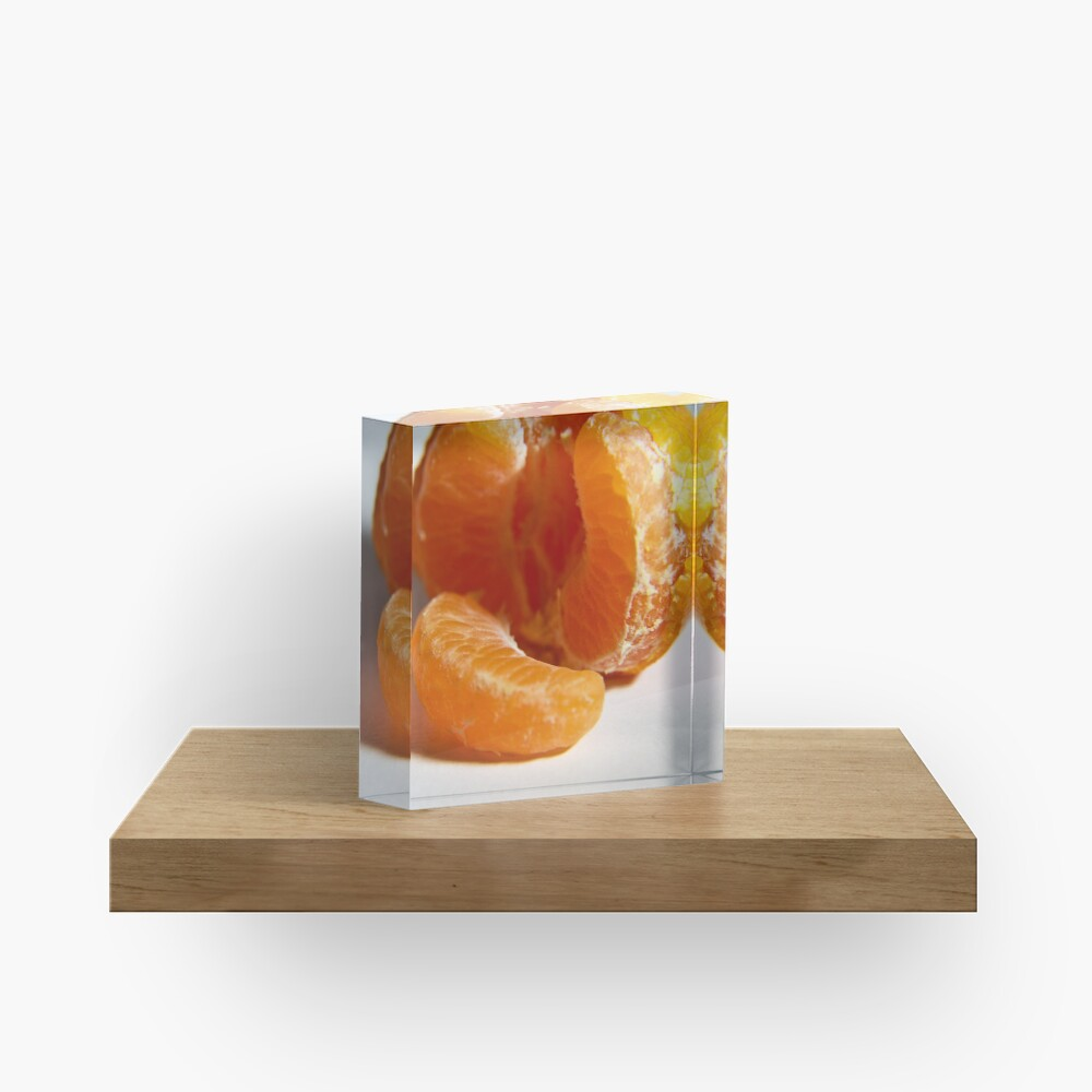 Mandarin take two Acrylic Block