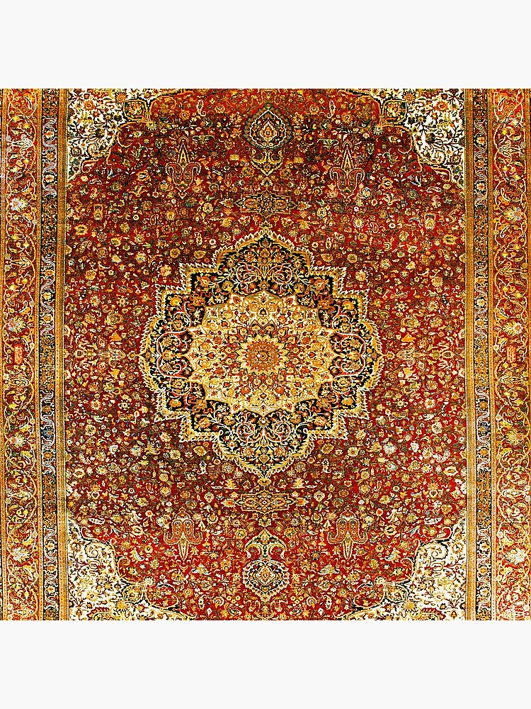 Khorasan Antique Persian Carpet Print by bragova