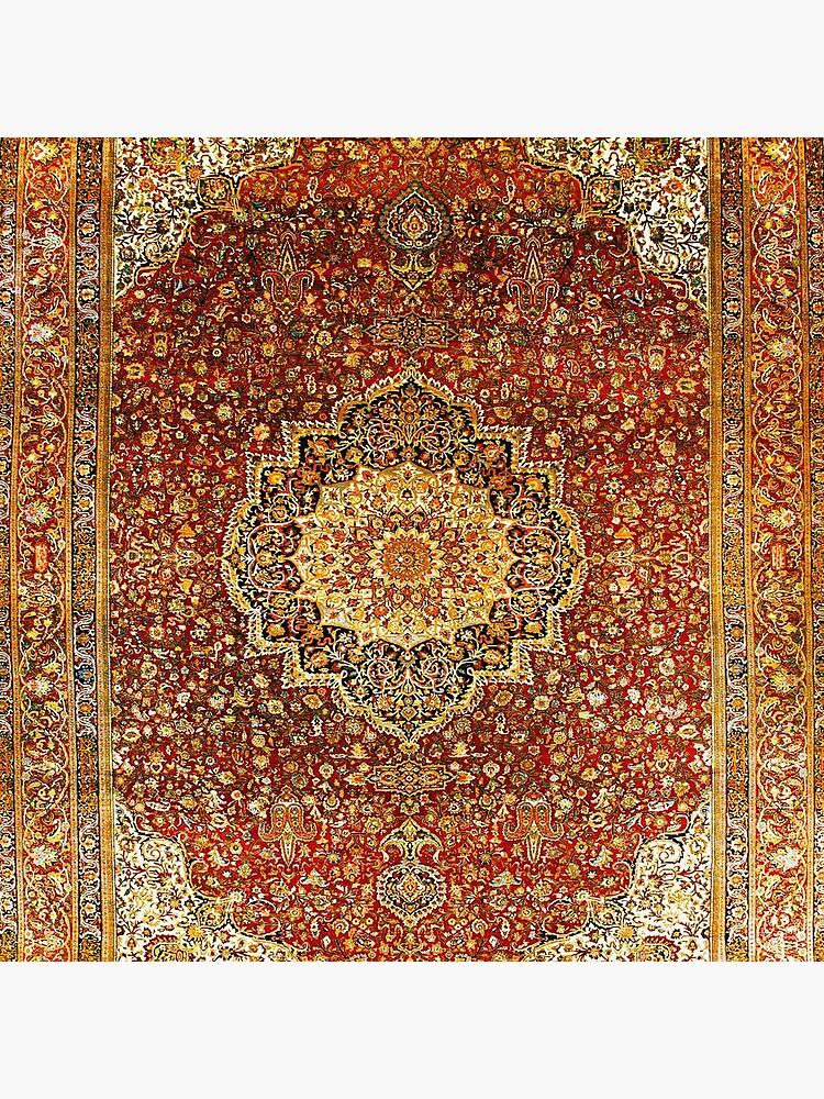 Khorasan Antique Persian Carpet Print by bragova