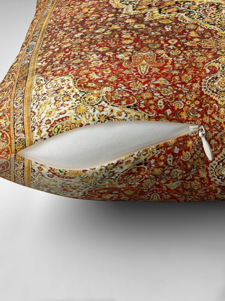 Alternate view of Khorasan Antique Persian Carpet Print Floor Pillow