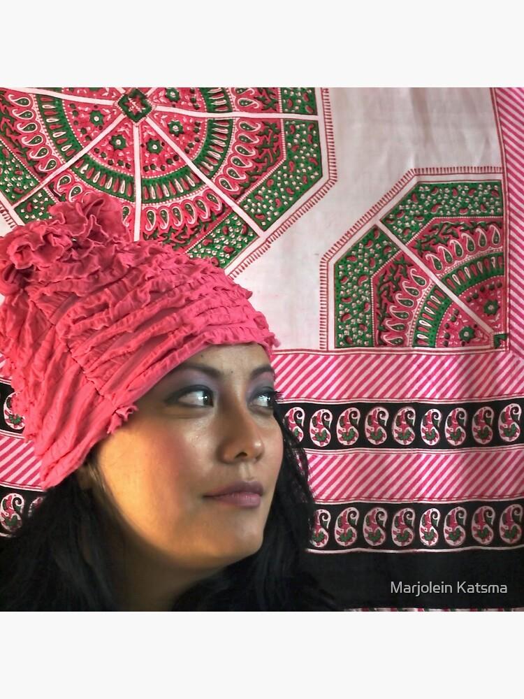 (556) Pink ruches by marjoleink