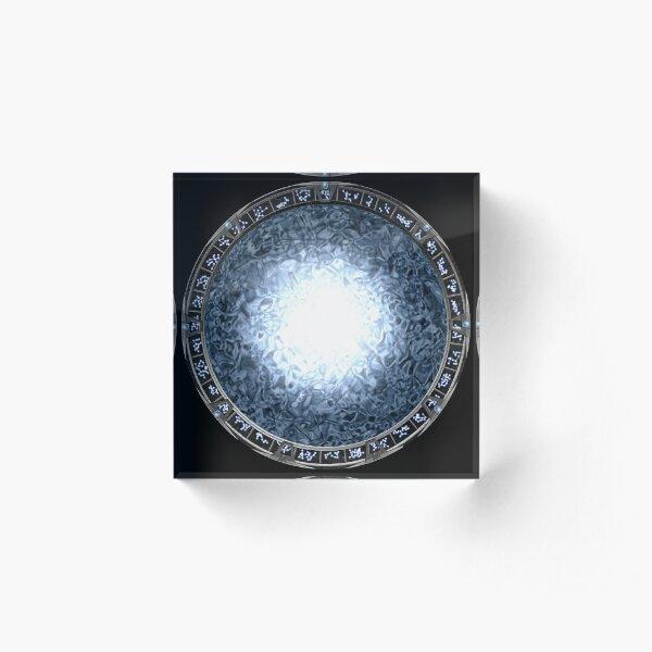Stargate Acrylic Block