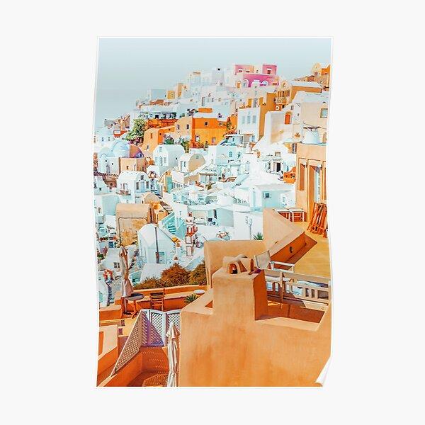 Santorini Vacay #photography #greece #travel Poster