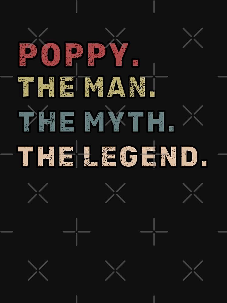Poppy der Mann der Mythos das Legende-Vater-Geschenk von NadzeyaD