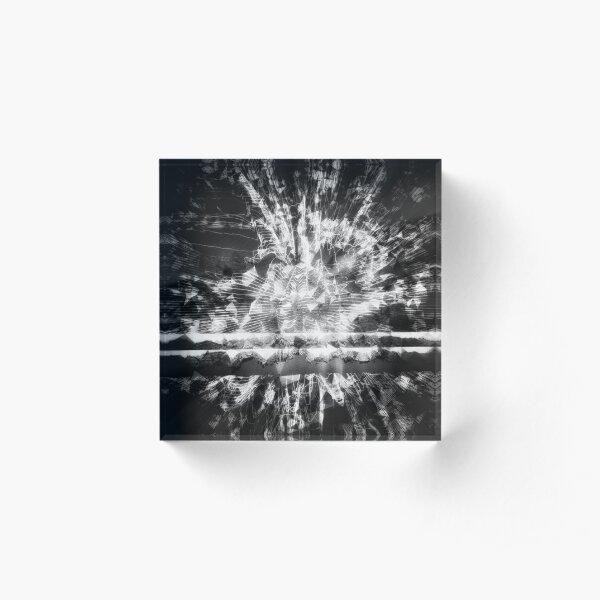 0126 Black Acrylic Block