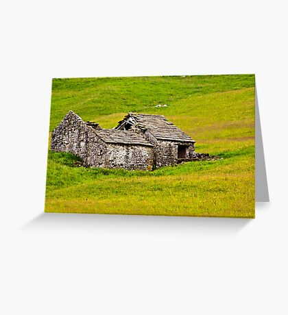 Ruined Barn Greeting Card