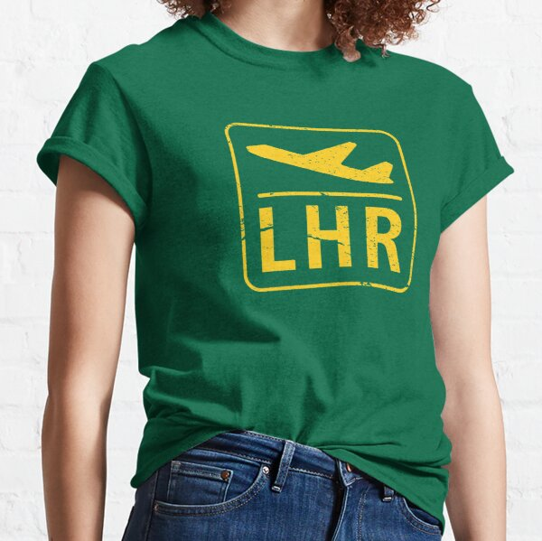 Heathrow Airport code sign Classic T-Shirt