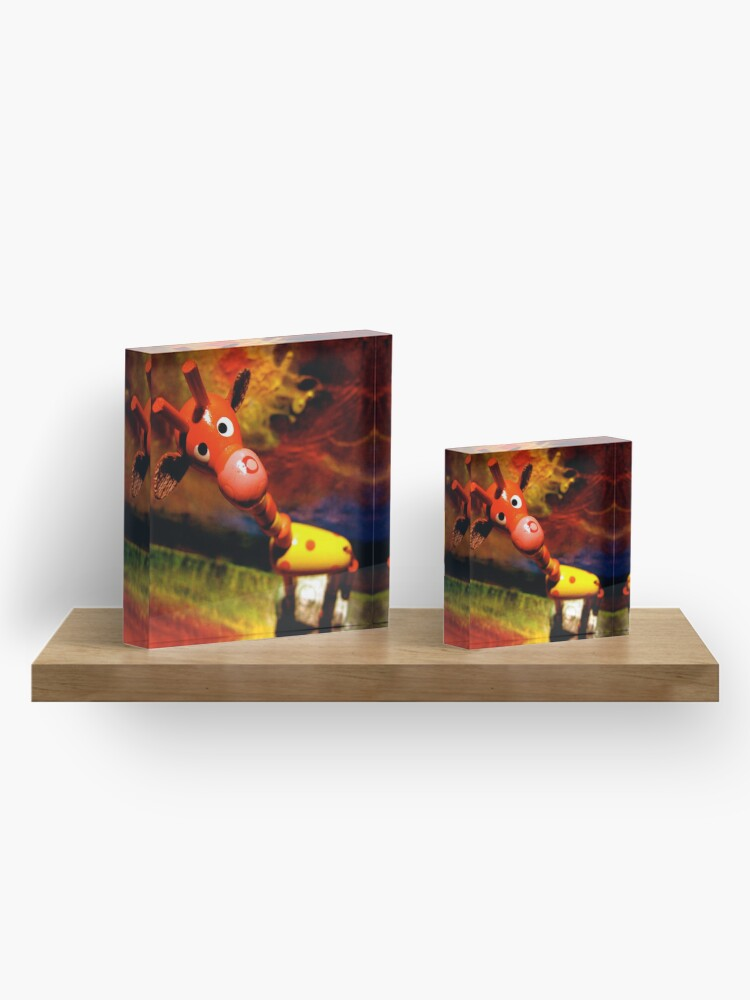 Alternate view of G. Raffe - Loves Art! Acrylic Block