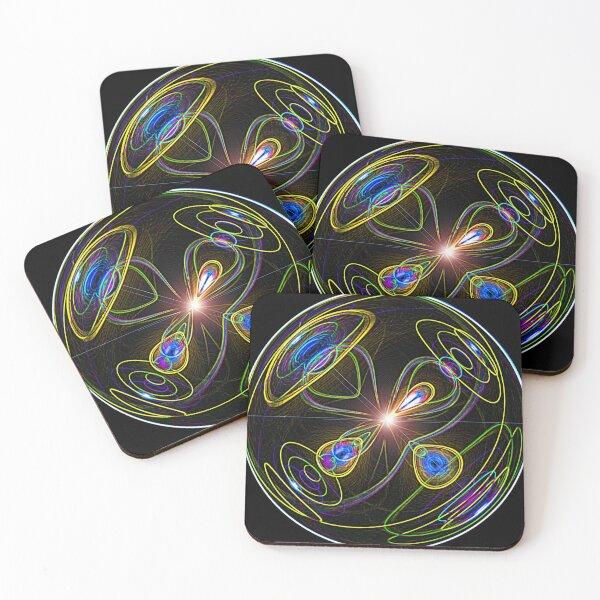 Higgs Boson Coasters (Set of 4)