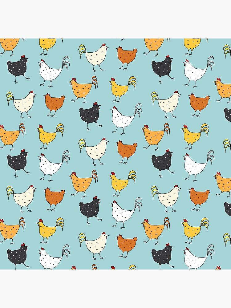 Chicken Pattern by lhollyberry