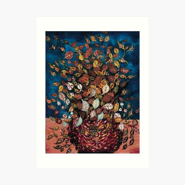 Le Bouquet de Feuilles - Seraphine Louis - Favourite Artists Collection Art Print