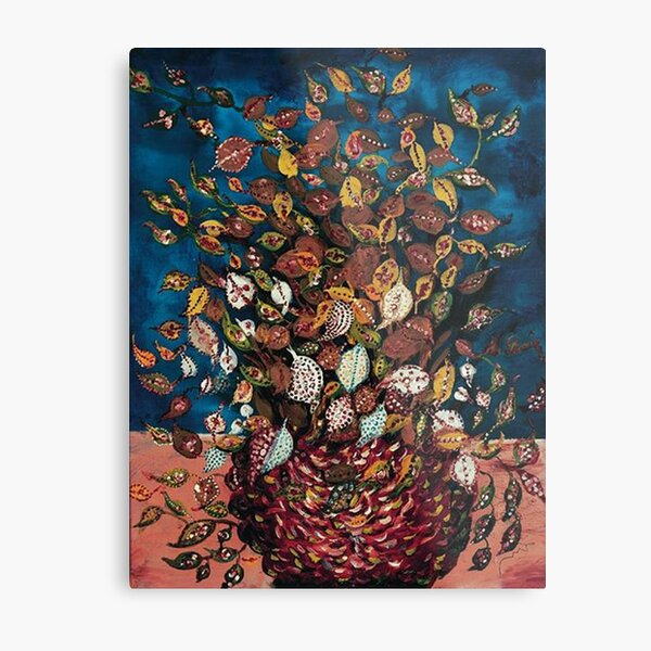 Le Bouquet de Feuilles - Seraphine Louis - Favourite Artists Collection Metal Print