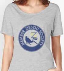 Member Zissou Society (detailed) Women's Relaxed Fit T-Shirt
