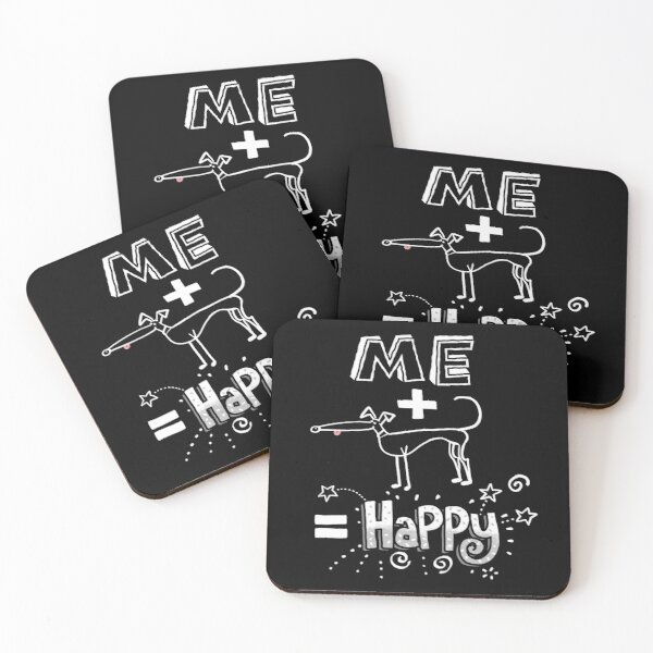 The Happiness Equation Coasters (Set of 4)