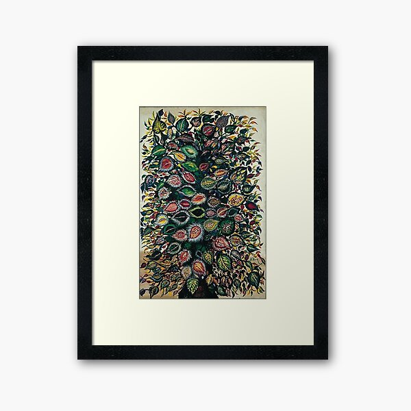Feuilles - Seraphine Louis - Favourite Artists Collection Framed Art Print