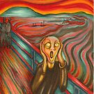 """After """"The Scream"""" My version by Catherine  Howell"""