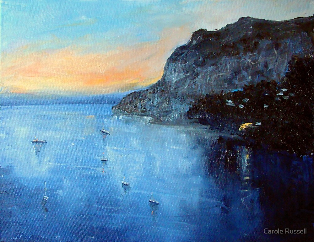 Evening moorings by Carole Russell