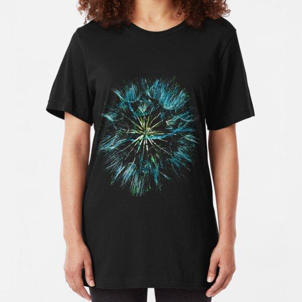 Dandelion clock 2 Slim Fit T-Shirt