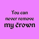 Bilal Hassani - Roi  ESC 2019 - You can never remove my crown (Fuchsia) by talgursmusthave