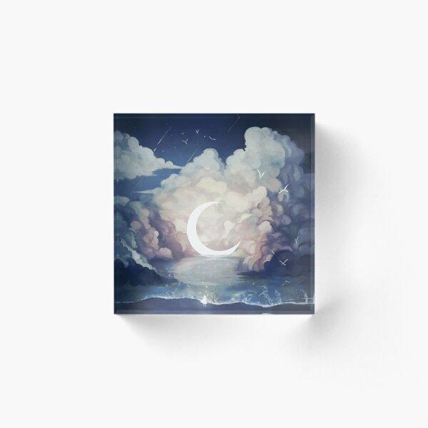 upon the sky-foam. Acrylic Block