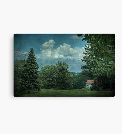 Teeing Off Canvas Print