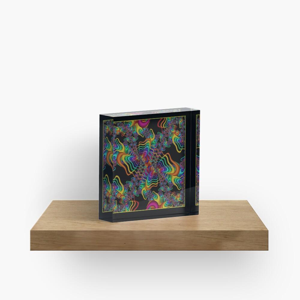 The Vibrations Shawl Acrylic Block