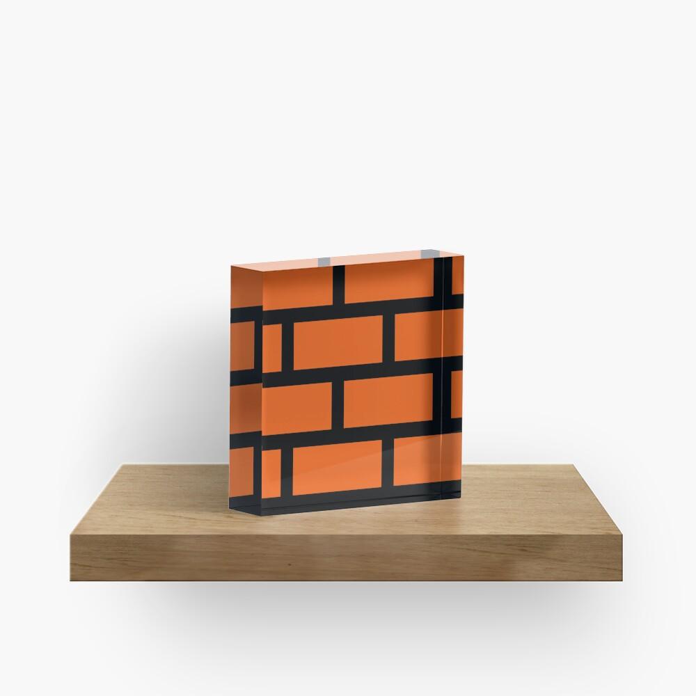 Brick Smash Acrylic Block