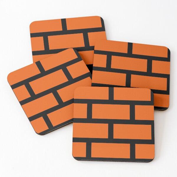 Brick Smash Coasters (Set of 4)