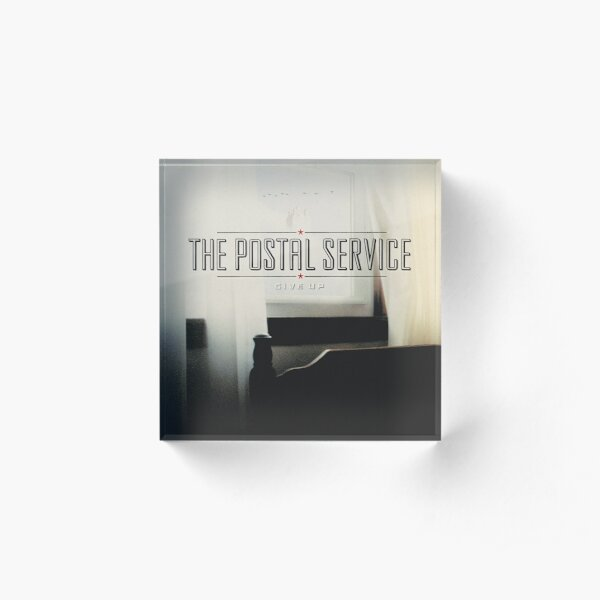 The Postal Service - Give Up Acrylic Block