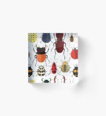 Cute Bugs Acrylic Block