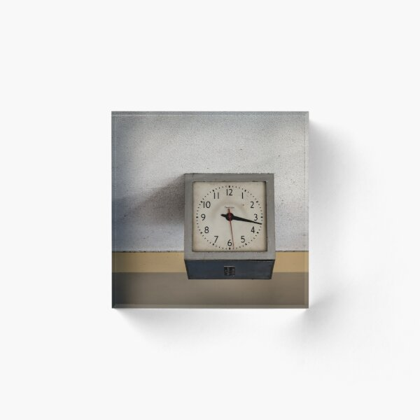 simplex 3.17pm Acrylic Block