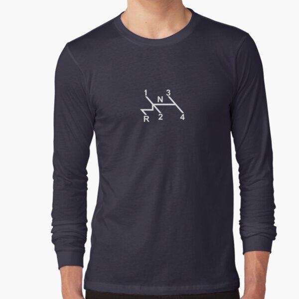 VW Shifter Pattern Long Sleeve T-Shirt