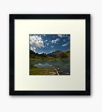 a lake ... Framed Print