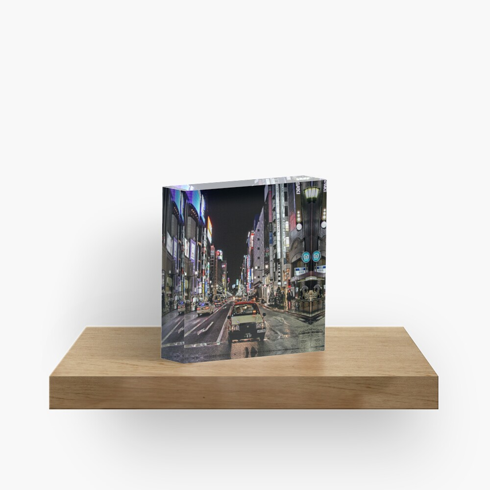 Lost in the City Acrylic Block