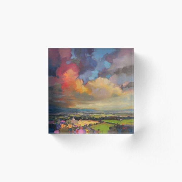 Fife Fields Acrylic Block