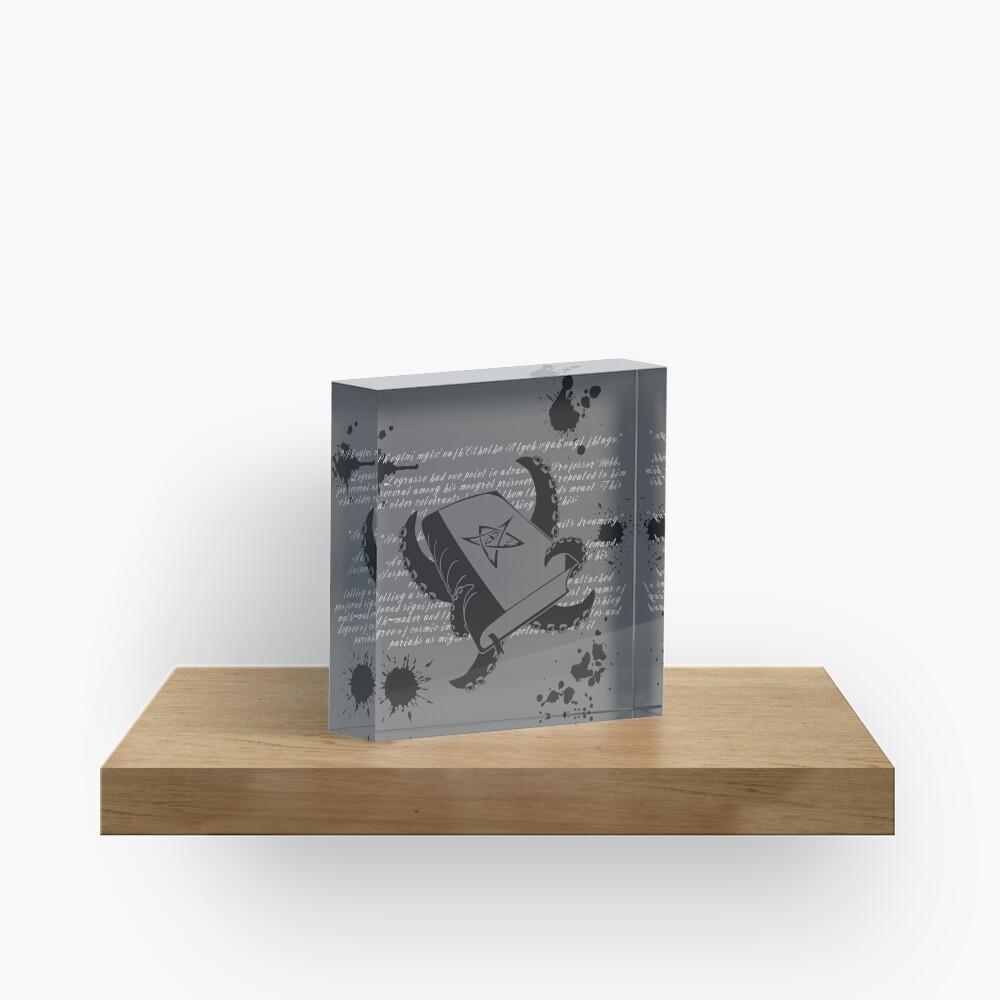 Cthulhu Mythos Acrylic Block