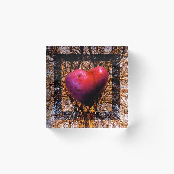 Tree art Acrylic Block